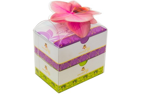 Orchid Presentation 2x100g Handcrafted Coconut Soaps
